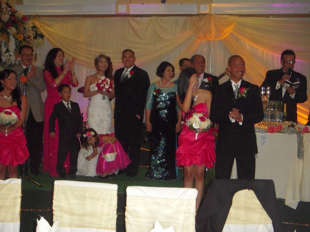 Đám cưới con Lương Văn Huấn
